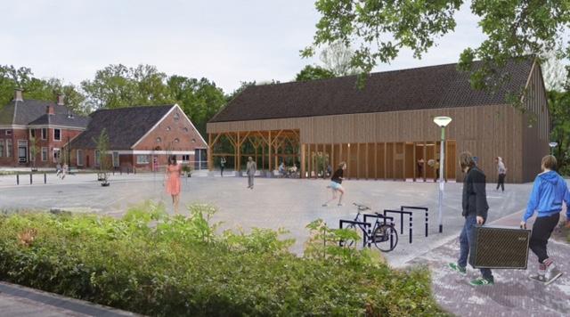 Bouwwerkzaamheden MFC Houtstek Slochteren op 8 juni hervat
