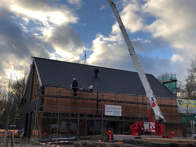 De bouw van MFC Houtstek nadert zijn voltooiing!